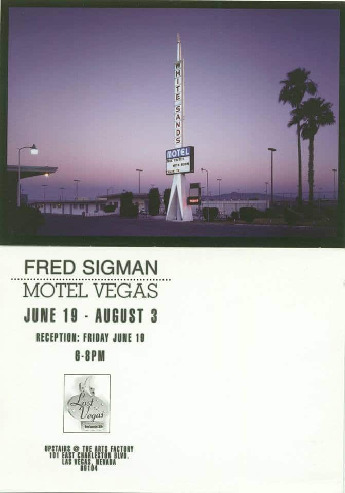 Motel Vegas by Fred Sigman