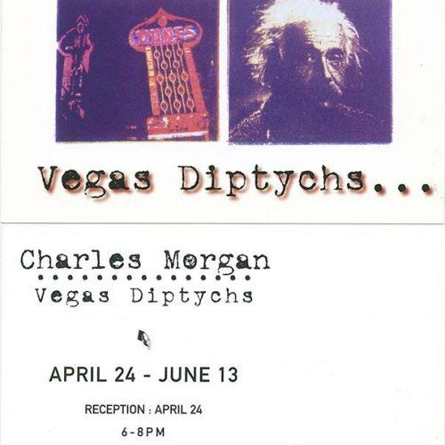 Vegas Diptychs by Charles Morgan